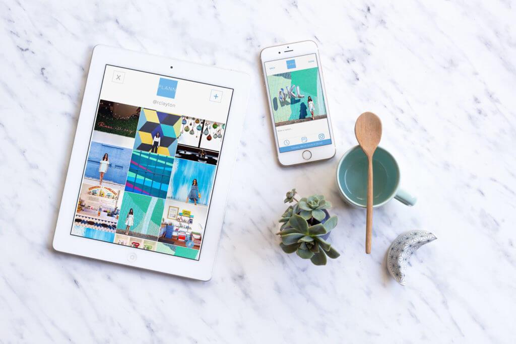 Rosie Clayton Plann Instagram app