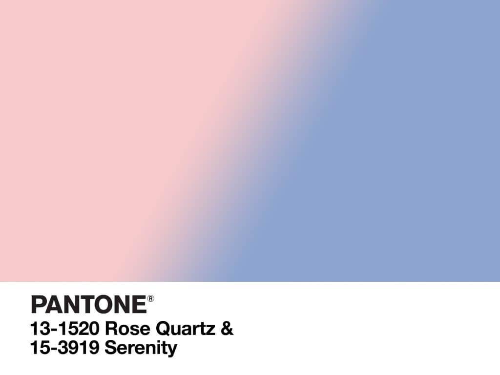 Pantone 2016 Colours