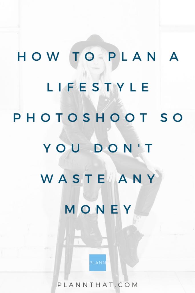 lifestyle photoshoot