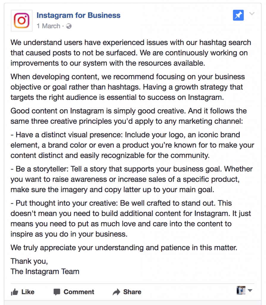 What is an Instagram Shadowban, and have you been impacted? - Plann