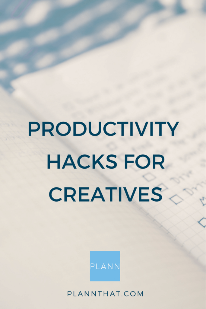 productivity hacks for creatives