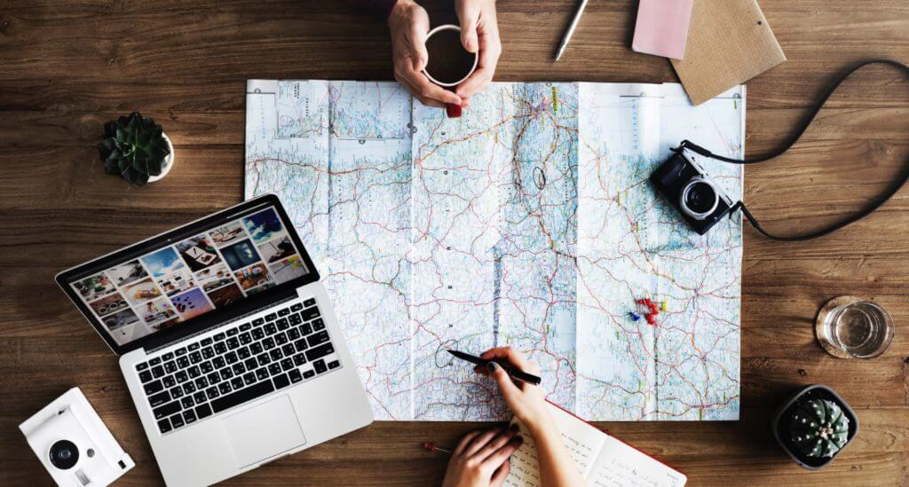 best travel instagrams map