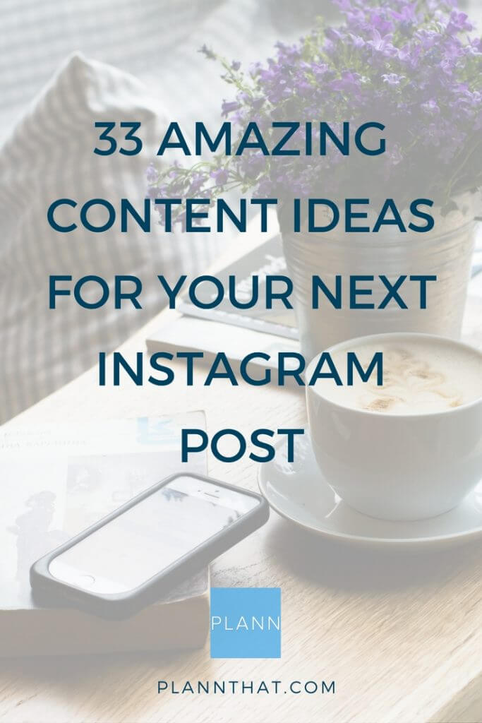 what to post on instagram pinterest