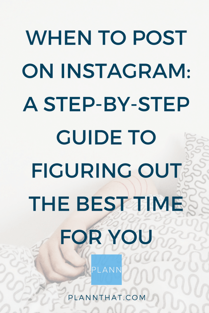 when to post on instagram pinterest