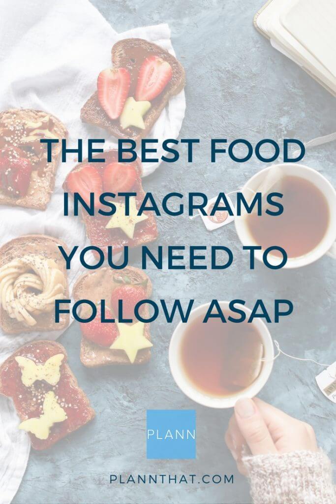 best food instagrams pinterest