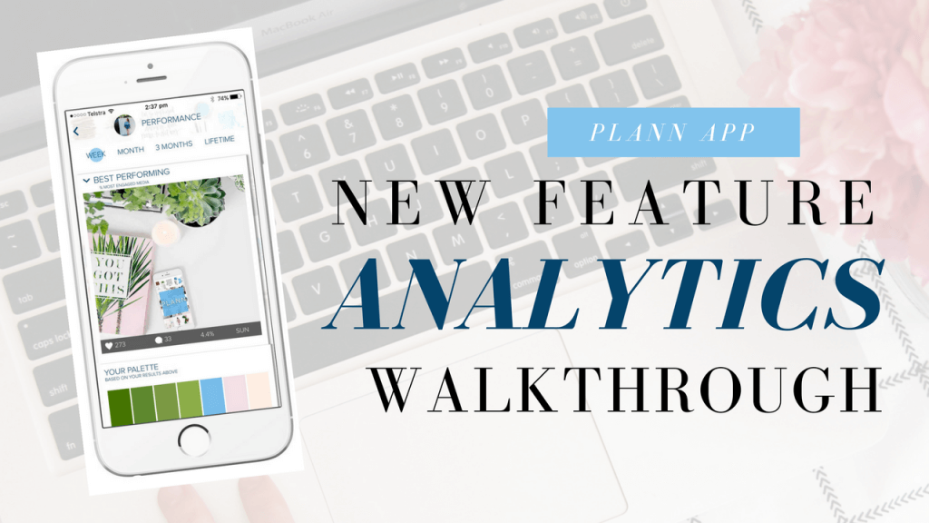 Instagram Analytics with Plann App