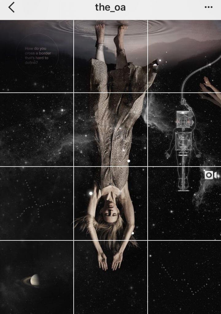 Instagram creative grids slice images