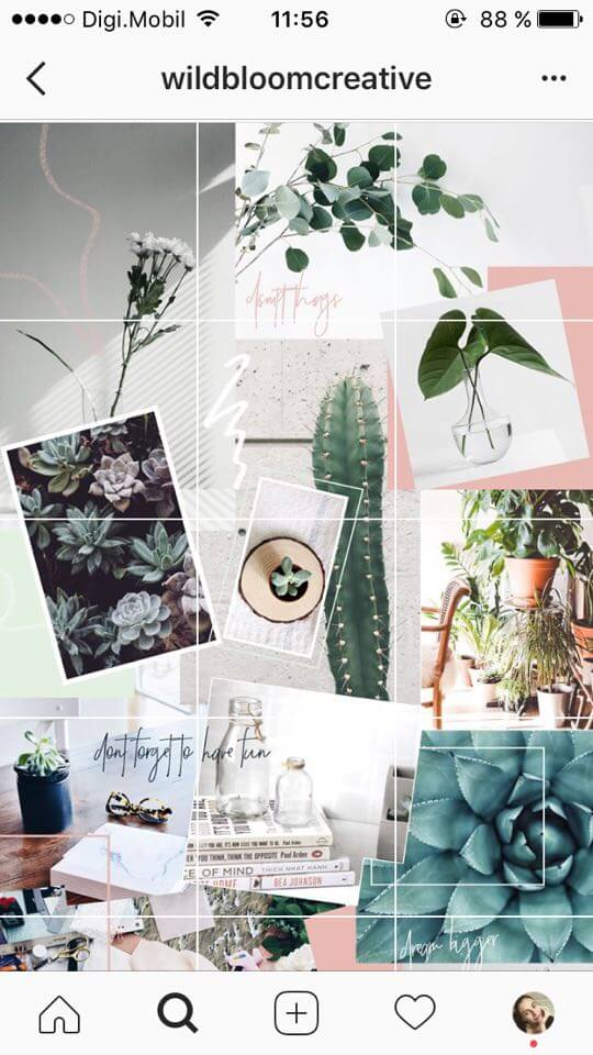 24 instagram feed themes how to re create them all yourself for Best home decor accounts on instagram