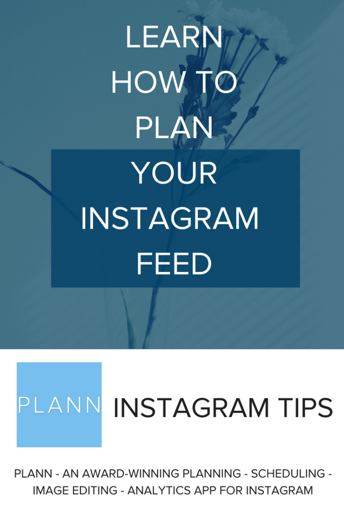 plan your Instagram feed