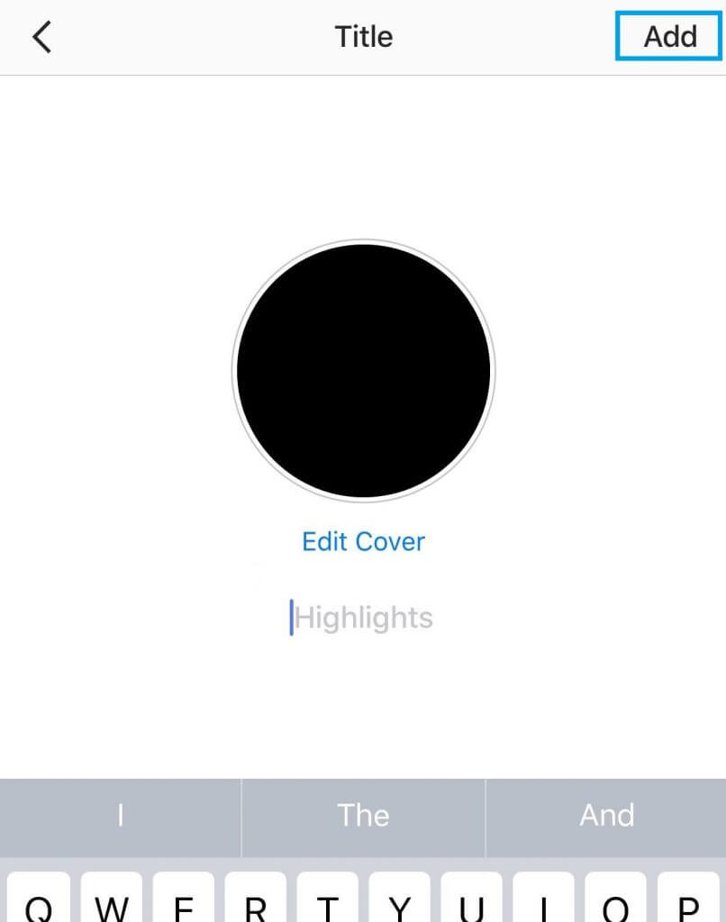 custom Instagram Highlights covers