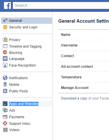 How to clear app permissions on facebook and instagram clear app permissions facebook2 ccuart Image collections