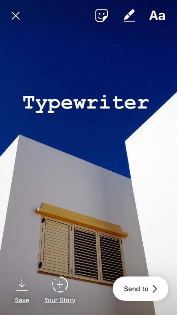 instagram-stories-font-typewriter