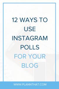 polls for instagram story