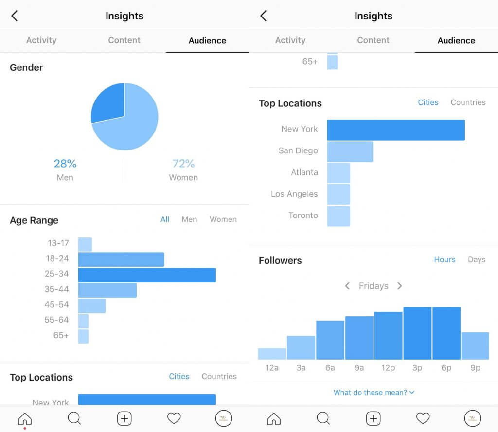 creating- buyer-personas- Instagram analytics