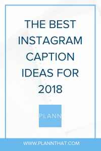 Instagram Caption Ideas