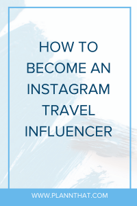 Instagram travel influencer