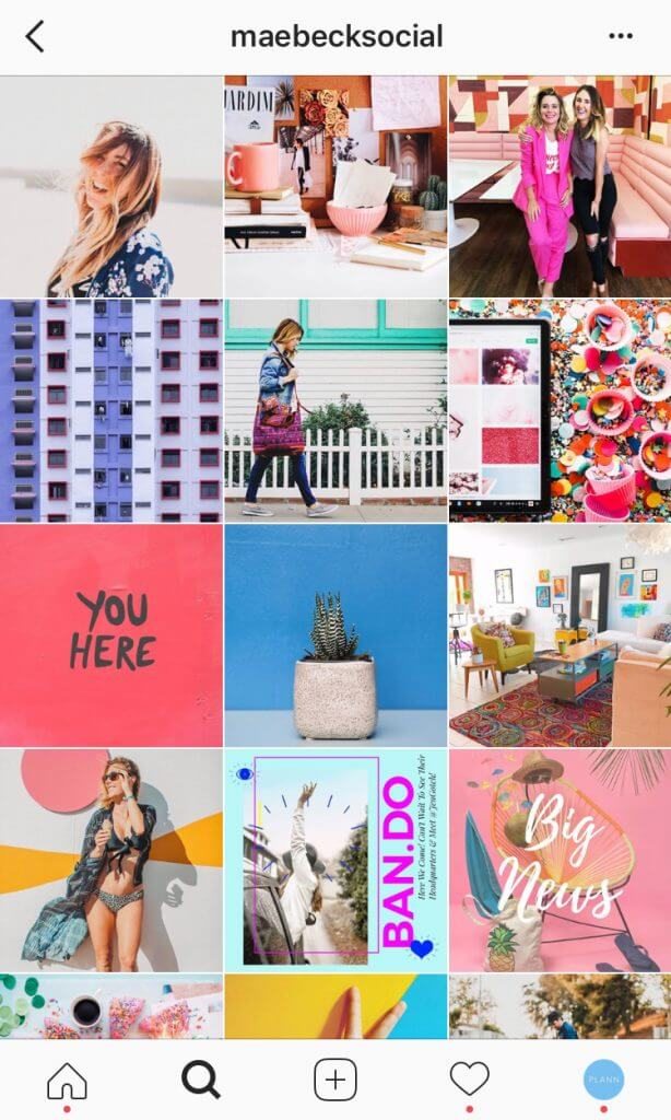grow Instagram followers organically with Plann