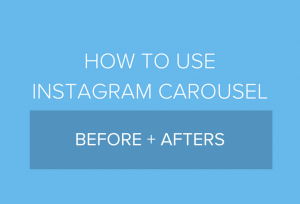 how to use instagram carousel posts