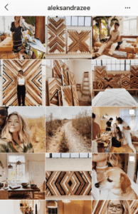 creative Instagram grid layouts