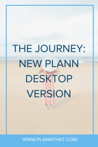 new Plann desktop version