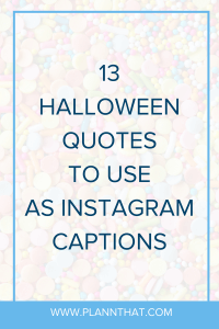 Halloween Captions
