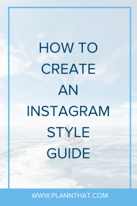 instagram style guide