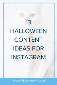 halloween content ideas