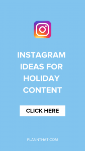 holiday content ideas