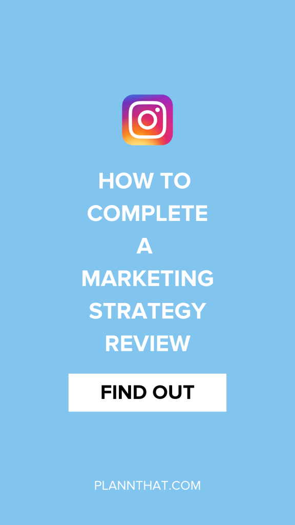marketing strategy review