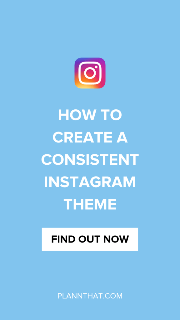 Plann Instagram Theme