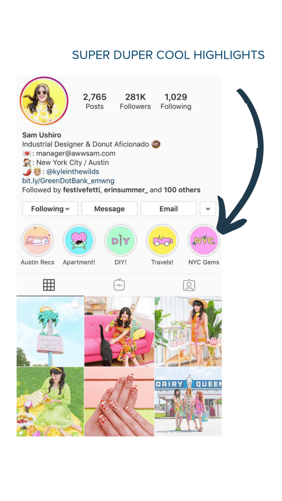 Instagram Story Highlights Are Part Of Your Bio