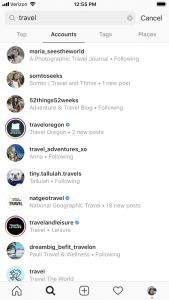 travel insta