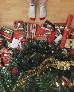festive captions