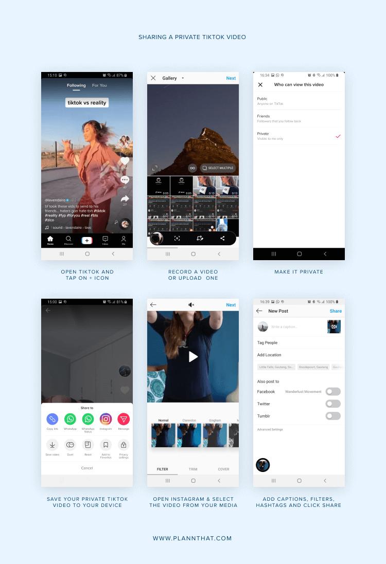 How To Link Your Tiktok With Instagram Plann