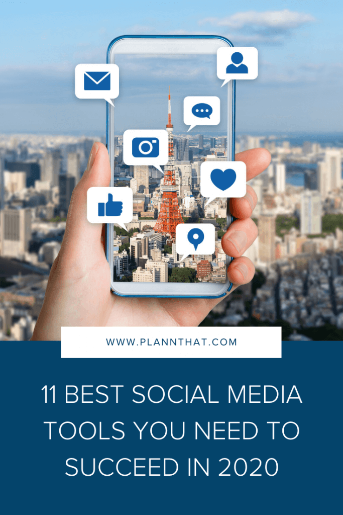 11 best social media tools you need to succeed in 2020