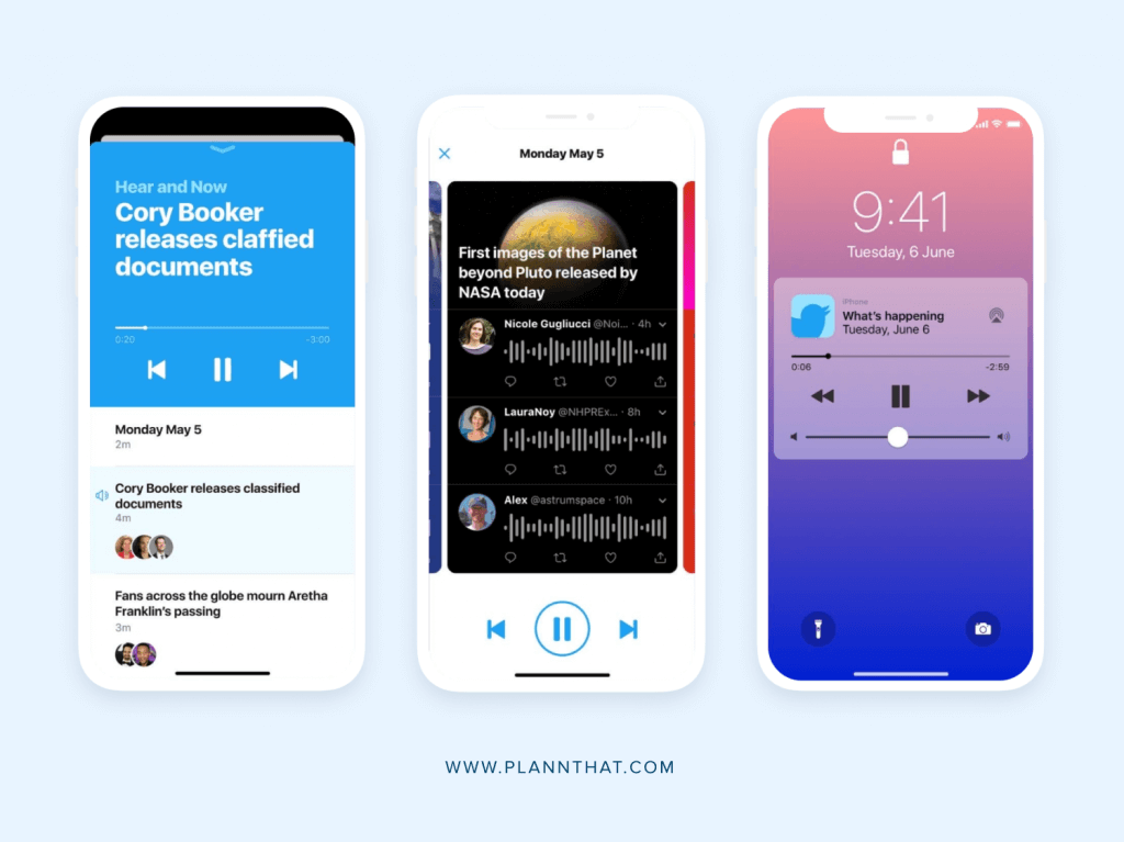 Twitter is testing audio features