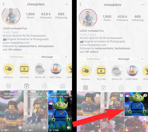 utilizing thumbnails on instagram reels