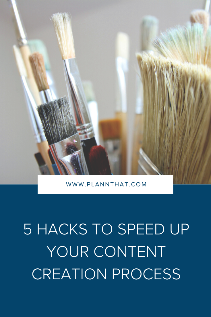 5 hacks to speed up your content creation process