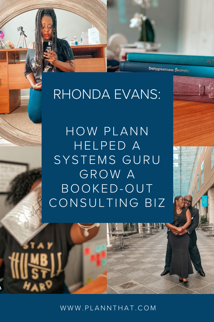 How Plann helped a systems guru grow a booked-out consulting biz