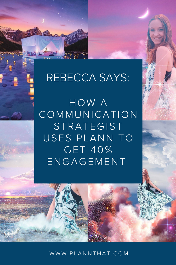 How A Communication Strategist Uses Plann To Get 40% Engagement