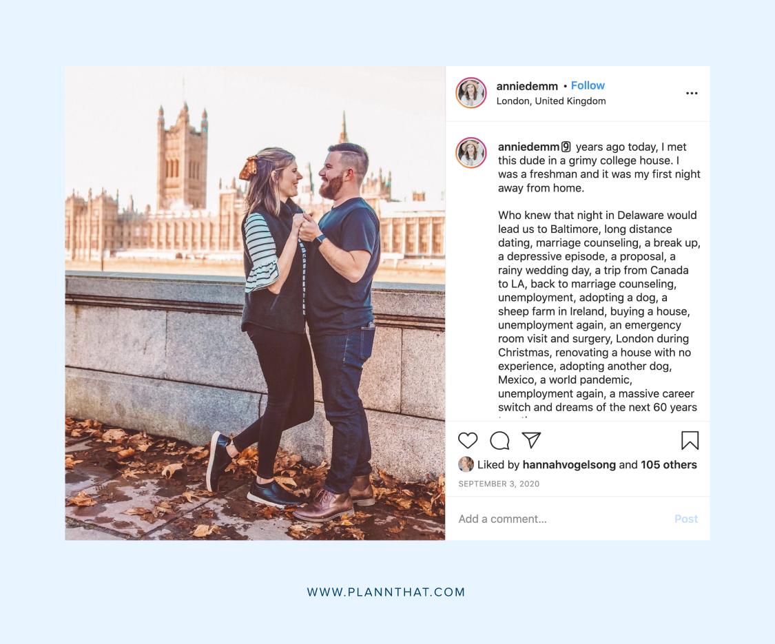 Valentine's Day content idea for social media