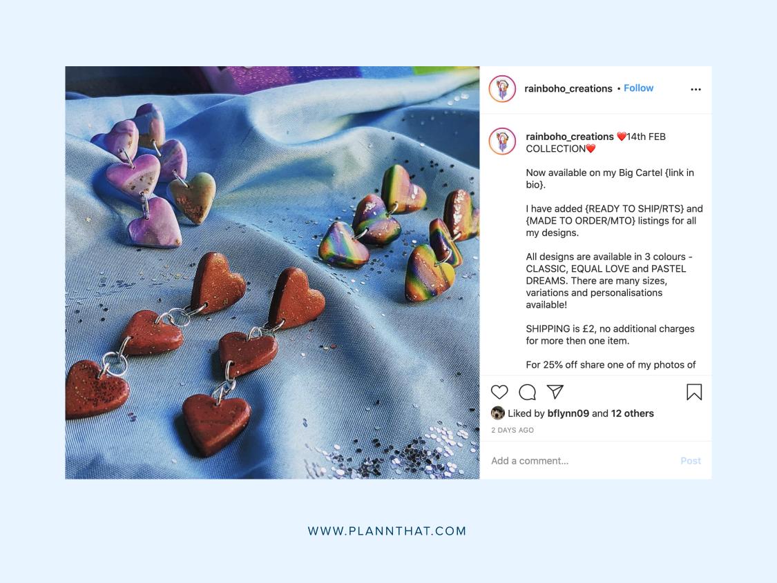 Valentine's Day social media content ideas