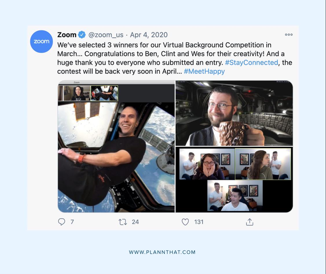 Social media campaign examples
