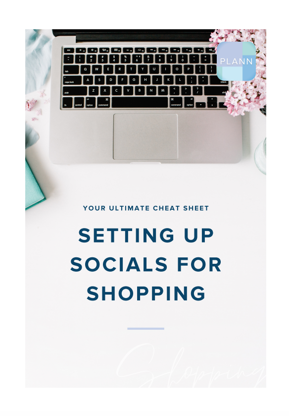 Setting Up Your Socials For Shopping: Your Ultimate Cheat Sheet