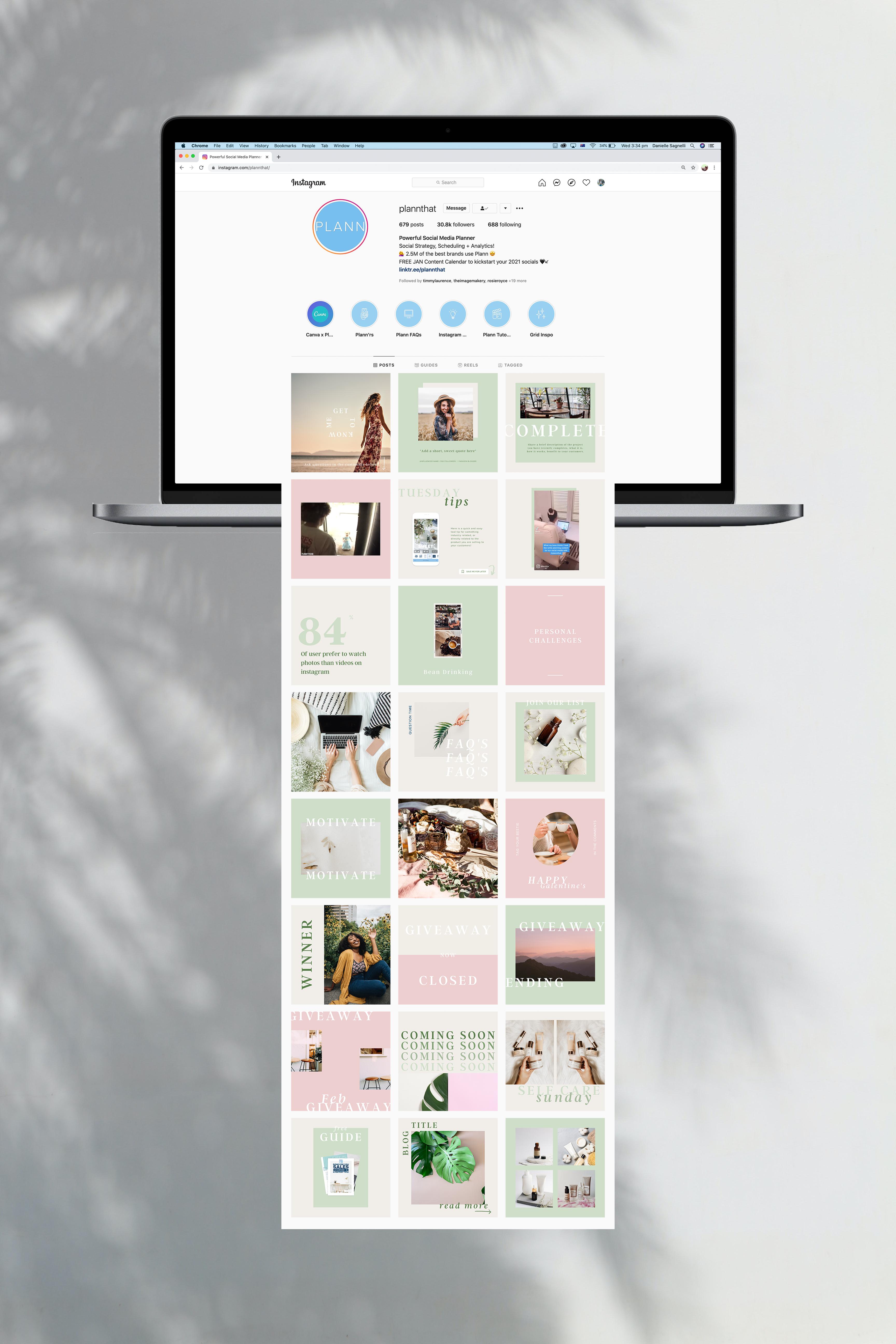 NEW! Interactive February Content Calendar