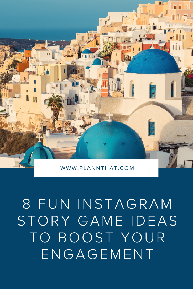 Instagram story game ideas