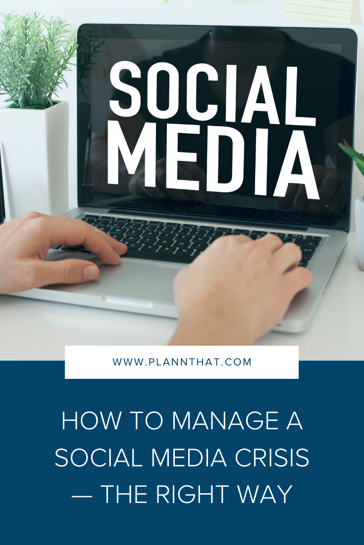How to deal with social media crisis
