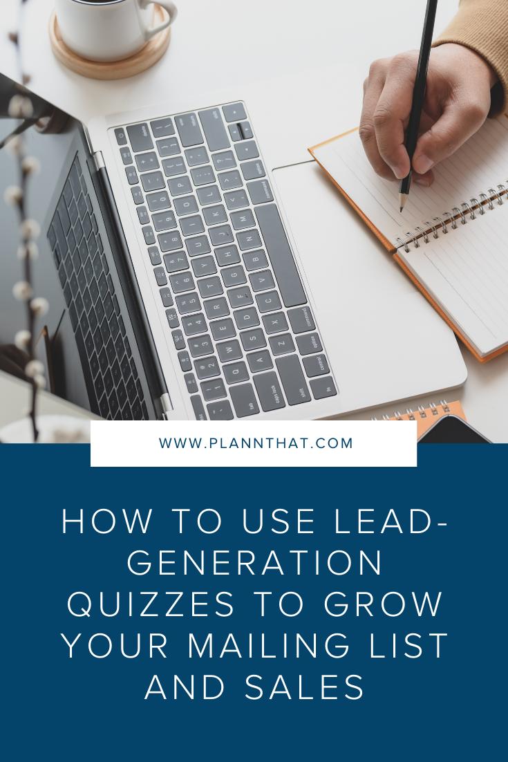 Lead Generation Quizzes