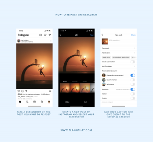 How to Re-post on Instagram