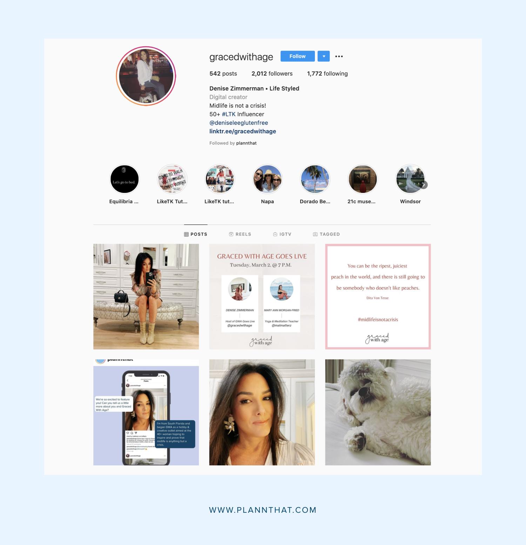 gracedwithage instagram